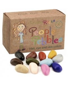 Crayon rocks 12 - People pebbles