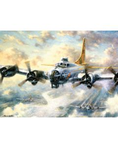 R&L painting by numbers - PAL21 3T Flying fortress