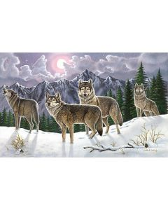 R&L painting by numbers - PAL19 3T Wolves