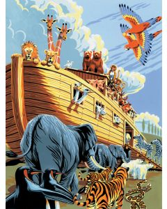 R&L painting by numbers - PJS23 3T noah's ark