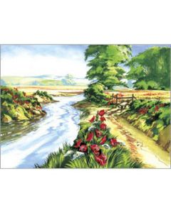 R&L painting by numbers - PAL13 3T Poppy field