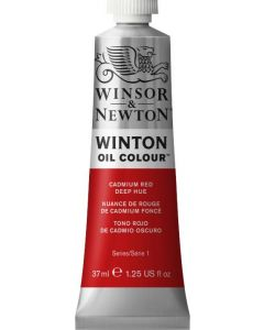 Winton olieverf 37ml 098 cadmiumrood donker hue
