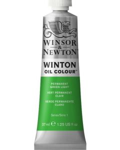 Winton olieverf 37ml 483 permanentgroen licht