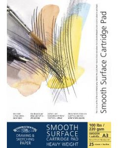 W&N Smooth Surface 220gr A4