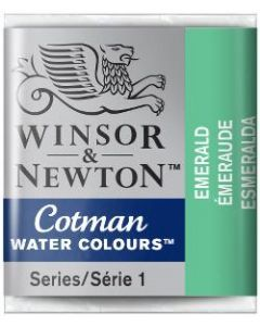 Cotman aquarel 1/2 napje 235 emerald