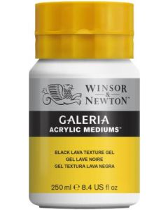 Galeria black lava texture gel 250ml