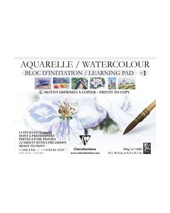 Clairfontaine watercolour learning pad no1