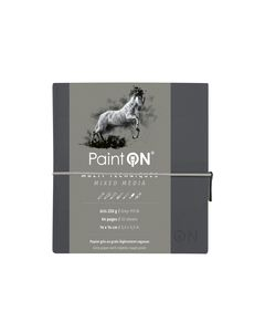 Clairfontaine Paint on mix media gris 250gr 14x14