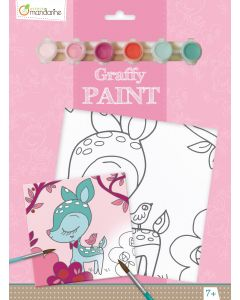 Graffy paint, PP013O Fauna 5-8+