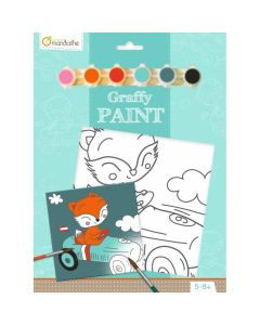 Graffy paint, PP016O Vos de racer 5-8+