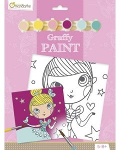 Graffy paint, PP019O prinses 5-8+