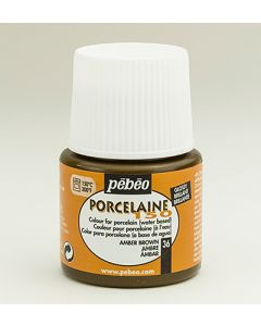 Pebeo porcelaine 150 - 36 amber brown