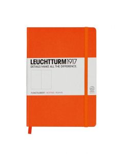 Leuchtturm1917 medium dotted oranje