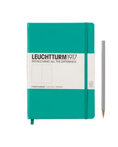Leuchtturm1917 medium dotted emerald