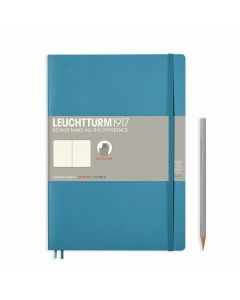 Leuchtturm1917 soft cover B6+ dotted nordic blue