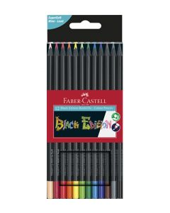 Faber-Castell black edition - set 12