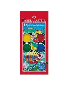 Faber-Castell watercolour set 12