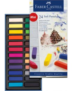 Faber-Castell softpastel set 24 mini