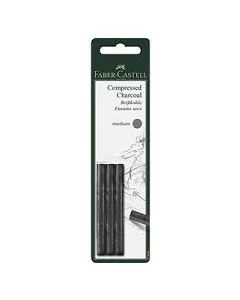 Faber-Castell compressed charcoal (siberisch krijt) medium