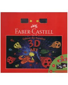 Faber-Castell 3D art colour by number