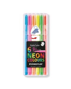 Staedtler triplus color set 6 neon