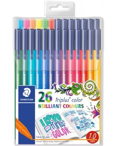Staedtler triplus color set 26 special edition