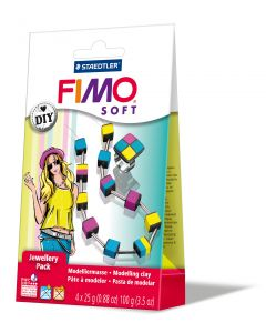 Fimo soft jewellery pack kubus - OUDERE VERPAKKING