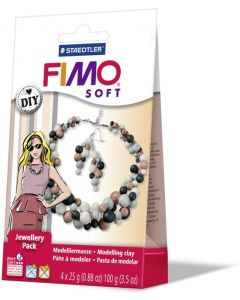 Fimo soft jewellery pack parels - OUDERE VERPAKKING