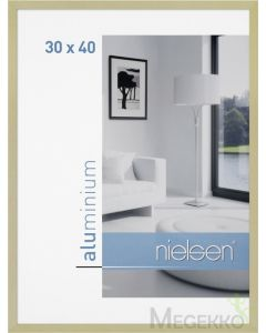 Wissellijst Nielsen C2 30x40 - brushed frosted gold