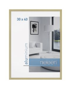 Wissellijst Nielsen C2 24x30 - brushed frosted gold