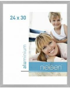 Wissellijst Nielsen C2 24x30 - brushed frosted silver