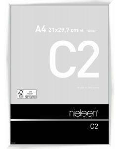 Wissellijst Nielsen C2 A4 - glossy white