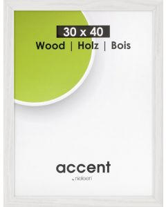 Wissellijst Nielsen accent magic wit 30 x 40