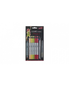Copic marker ciao set 5+1 Manga 3
