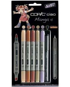 Copic marker ciao set 5+1 Manga 4