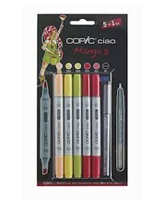 Copic marker ciao set 5+1 Manga 8