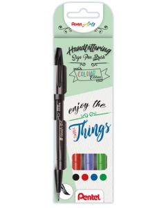 Pentel sign pen brush - enjoy the small thing