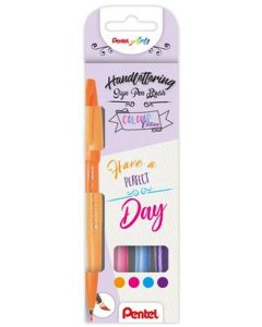 Pentel sign pen brush - Have a perfect day
