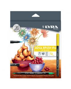 Lyra aqua brush duo set 12