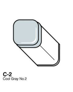 Copic marker C2 cool gray no. 2