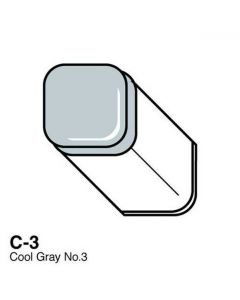 Copic marker C3 cool grey no. 3