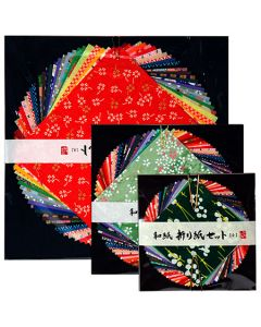 Awagami yuzen origami mix small