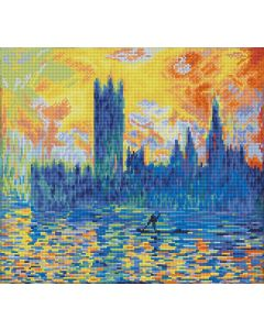 Diamond Dotz - DD10.038 London parliament in winter 46x41