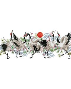 Diamond Dotz - DD8.011 Brolga dance 77x32