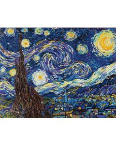 Diamond Dotz - DD9.001 starry night 50.8x40.6