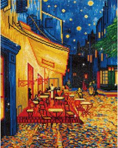 Diamond Dotz - DD10.005 Café at night 42x52