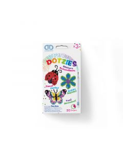 Diamond Dotz - Dotzies 3 stickers - garden