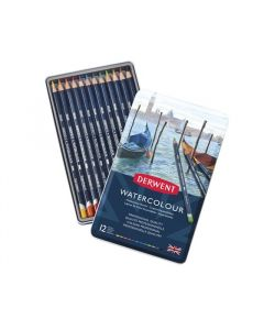 Derwent watercolour set 12