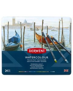 Derwent watercolour set 24