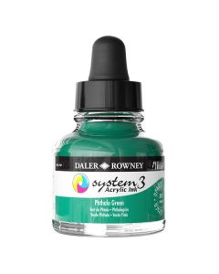 DalerRowney System3 acrylic ink 361 Phthalo Green, 29,5ml